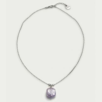 Jewelry Murano Necklace Florinda amethyst silver 925