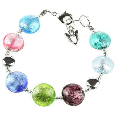 Jewelry Murano Bracelet Frida multicolor silver
