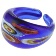 Jewelry Ring Laguna blue murine T61