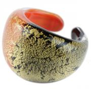 Ring Laguna black orange T56