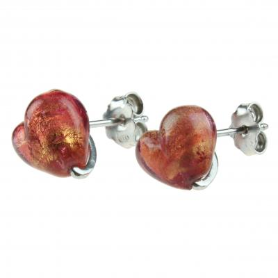 Jewelry Murano Earrings Love parme