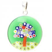 Jewelry Pendant Millefiori tree
