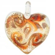 Jewelry Passione pendant fusion orange multi