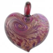 Jewelry Passione pendant fusion violet and gold