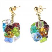 Earrings Rubik multicolors